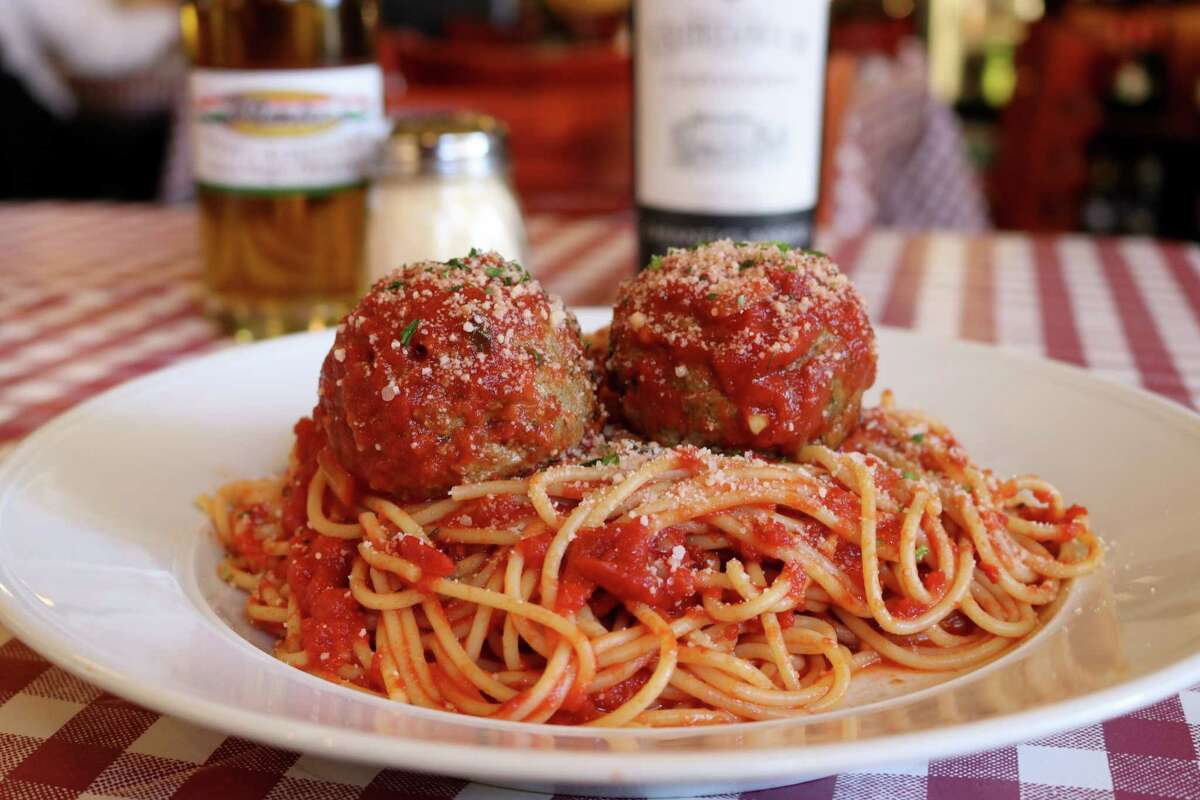D'Amico's Italian Market Café: These are bragging-rights meatballs: substantial, classic, all-beef, hand-rolled daily gems that are baked and then plumped in house-made sugo. Served with spaghetti, this is a true taste of Italian-American goodness, $10.99. 5510 Morningside, 713-526-3400; damico-café.com