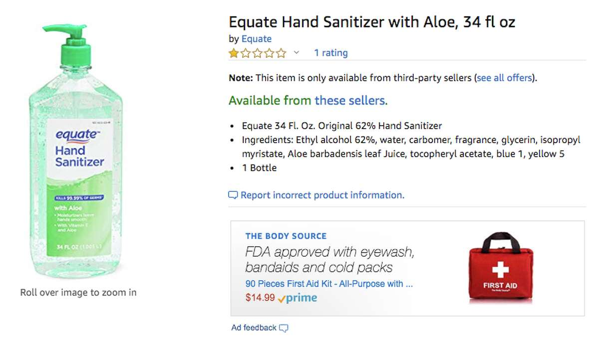 As it becomes more difficult to find hand sanitizer on Amazon amid the coronavirus outbreak, some third-party sellers are charging outrageous amounts for their products. A check Tuesday found that reasonably priced sanitizers, including Amazon's brand, were all out of stock.