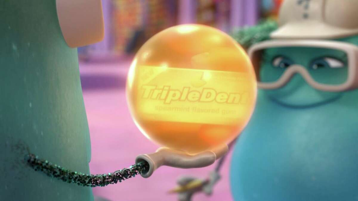 Triple Dent is such a Pixar standard, it has its own Wiki page. Shown here is the gum in 2015's