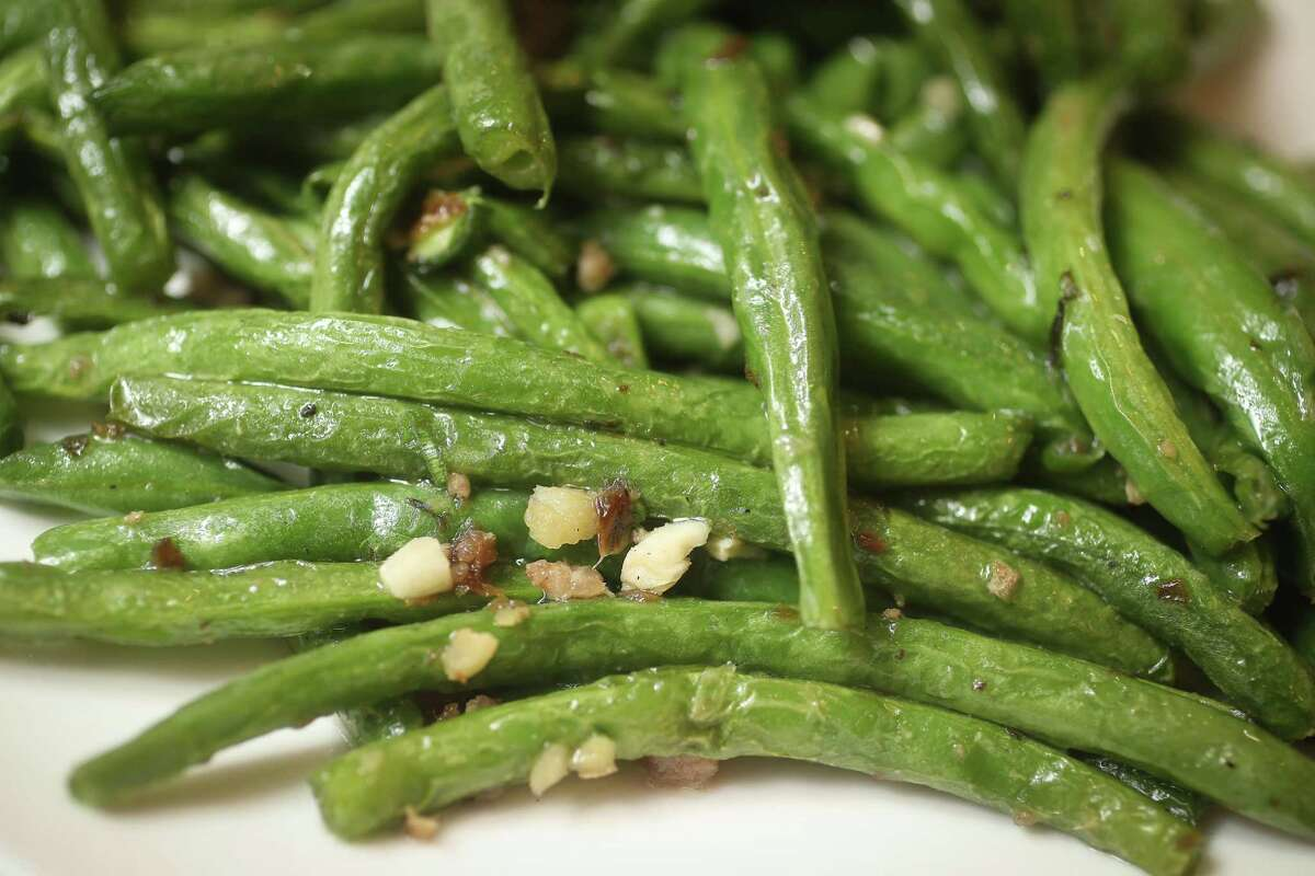 Stir-Fried Green Beans at One Dragon