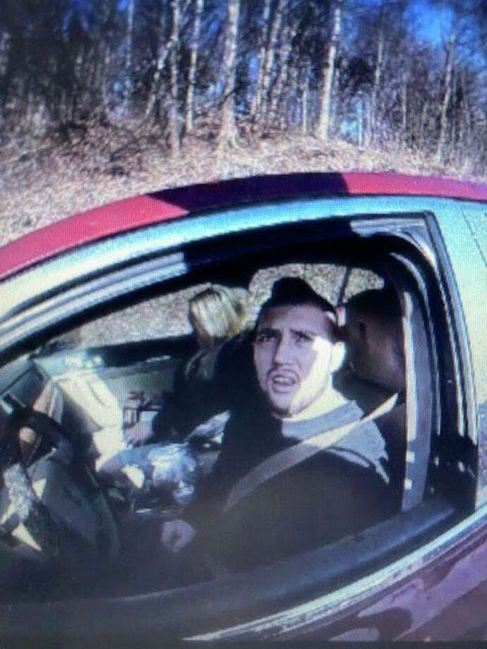 Troy Burgess, 25, of Stafford, Conn., is wanted for alleged identity theft in Ohio. Photo: Contributed Photo / Connecticut State Police