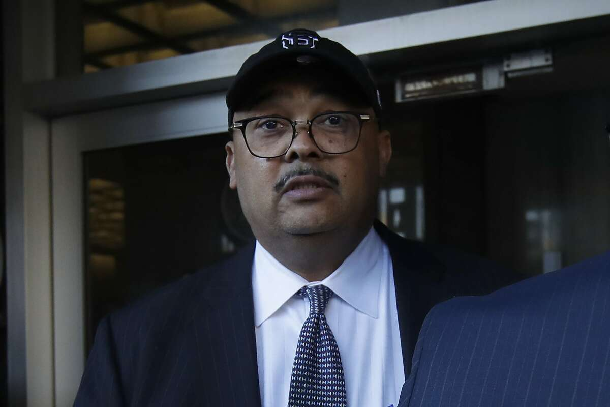 In this Feb. 6, 2020, photo, Mohammed Nuru, director of San Francisco Public Works, leaves a federal courthouse in San Francisco.