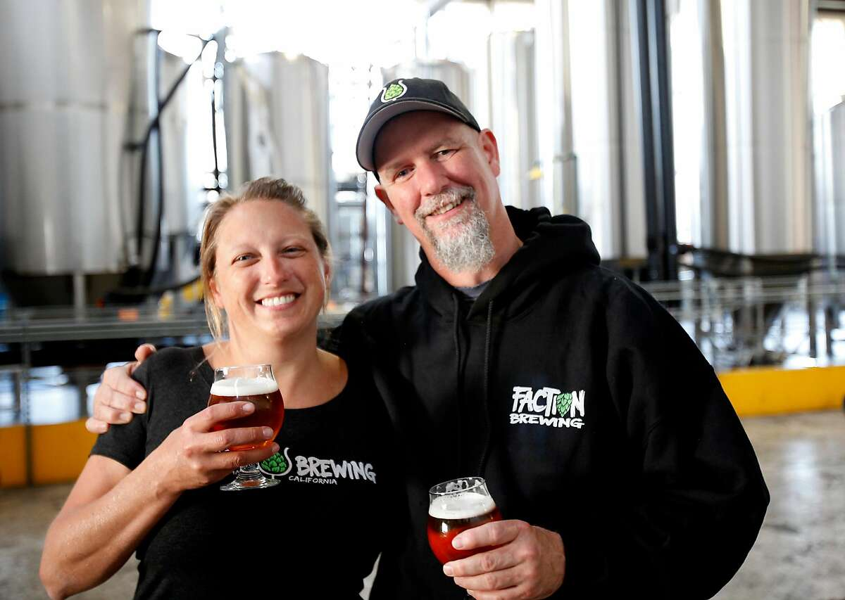 Claudia Pamparana and husband Rodger Davis, owners of Faction Brewing, are expanding to Oakland.