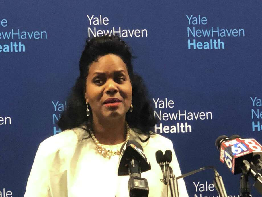 Renée Coleman-Mitchell, commissioner of the state Department of Public Health announced a new Gold Ribbon Commission on Maternal Health during a morning- long summit of statewide health professionals on Tuesday. Photo: Ed Stannard / Hearst Connecticut Media /