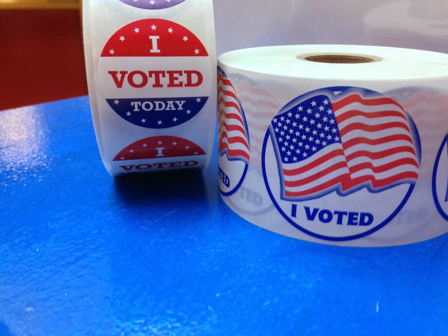 """""""I Voted"""" stickers Photo: Lynda Roberts, Marin County Registrar Of Voters"""