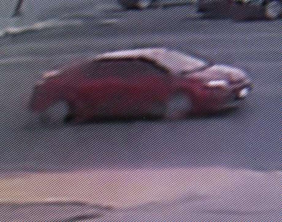 The Odessa Police Department needs the public's help identifying an indecency with a child suspect, who fled the scene in the vehicle above. Photo: Odessa Police Department
