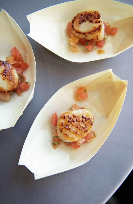 Chefs prep for the Grand Tasting. Photo: Courtesy Sarah Flotard