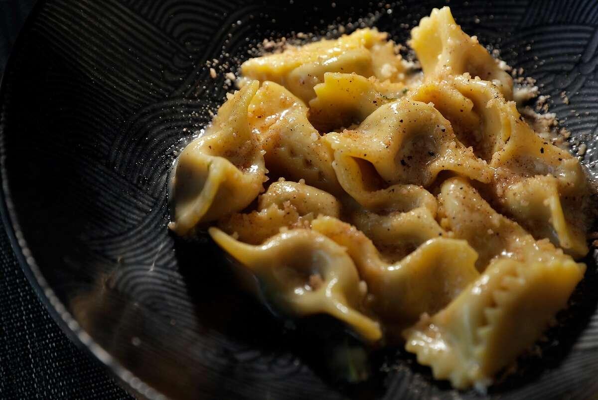 The Scarpinocc de Parr served at Belotti Ristorante, a pasta-focused Italian restaurant in Oakland, Calif., on Wednesday, February 26, 2020.