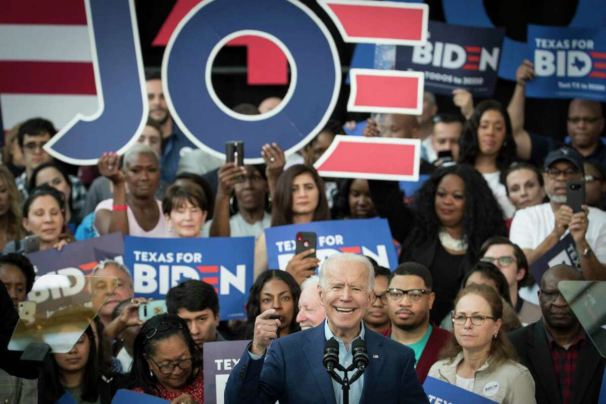 Fort Bend County (78 of 78 polling centers reported)Joe Biden: 41.97% Bernie Sanders: 26.30%Michael Bloomberg: 15.04%Elizabeth Warren: 8.71%