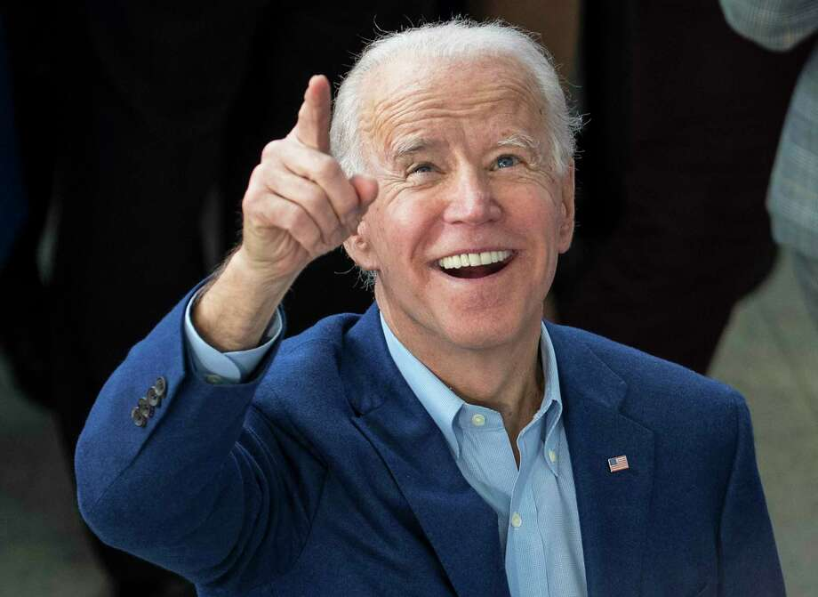 Democratic presidential hopeful former Vice President Joe Biden greets supporters during a campaign stop on March 2, 2020 at Texas Southern University in Houston. Photo: Brett Coomer, Houston Chronicle / Staff Photographer / © 2020 Houston Chronicle