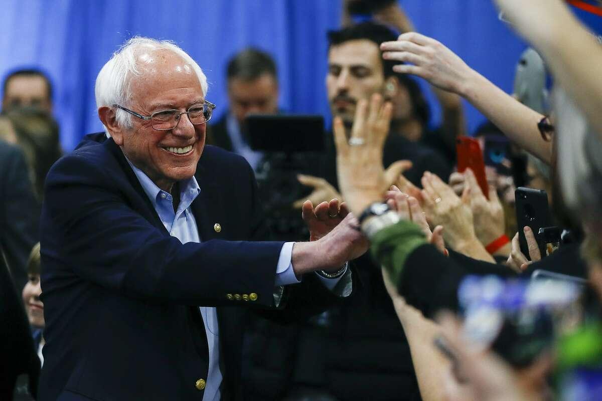 San Francisco County (100% of precincts reporting) Bernie Sanders: 32.72%Joe Biden: 22.00%Elizabeth Warren: 21.24%Michael Bloomberg: 13.06%