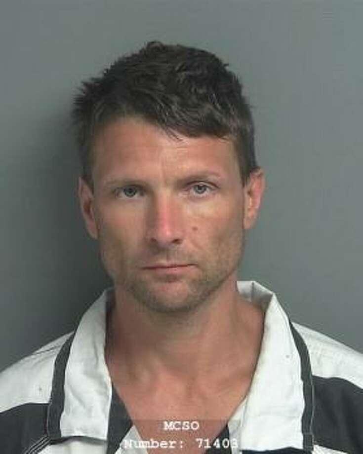 Hunter Photo: MCSO Jail Mug