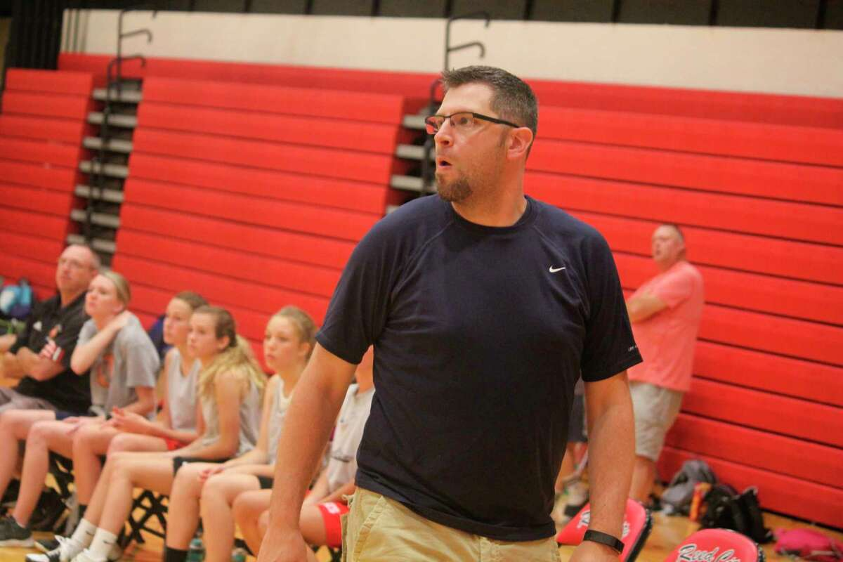Reed City coach Tim Beilfuss and his girls team enters district action this week. (Herald Review photo/John Raffel)