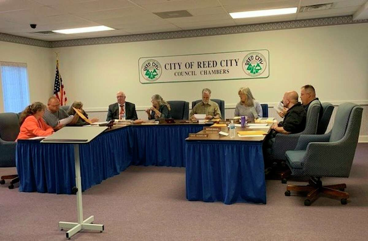 The Reed City City Council approved the application for a Community Development Block Grant for $2 million to help fund upgrades to the city's waste water treatment plant. Additional funding will be sought through available grants and a low-interest USDA loan. The total cost of the upgrades will be around $9.5 million. (Herald Review photo/Cathie Crew)
