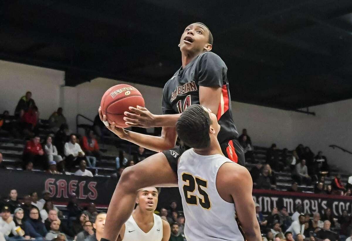 Salesian boys basketball player Shane Bell (file photo)