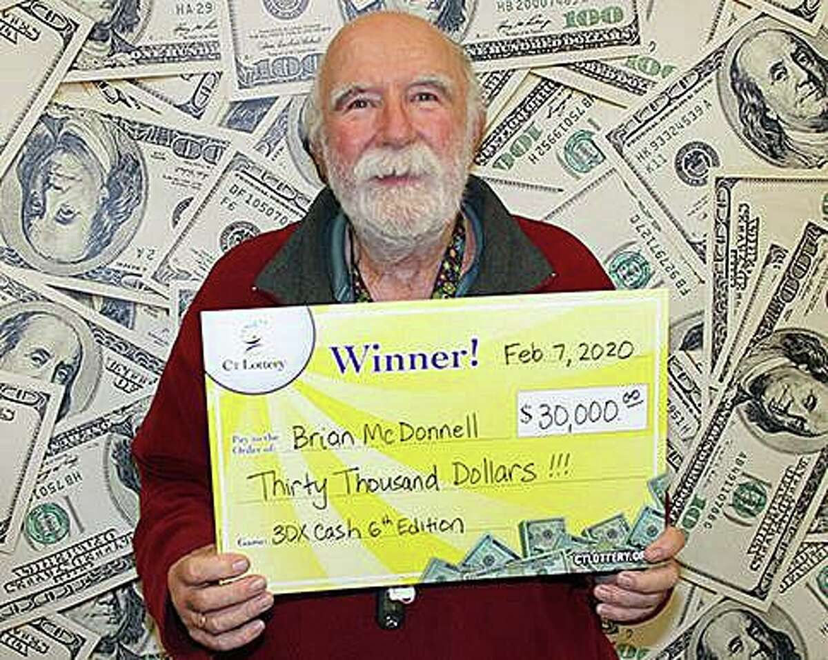 Brian McDonnell, of Torrington, won $30,000 on a 30X Cash ticket sold at Lucky Star in Torrington.