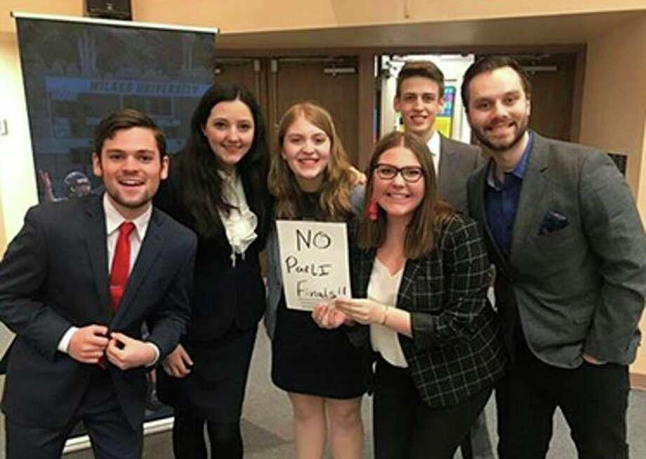 From left, Jacob Adams, Rebecca Powell, Anna Claire Rowlands, Susannah Barnes, Sebastian Anastasi, and Andrew Furjanic took the PFACT title. (Photo provided)