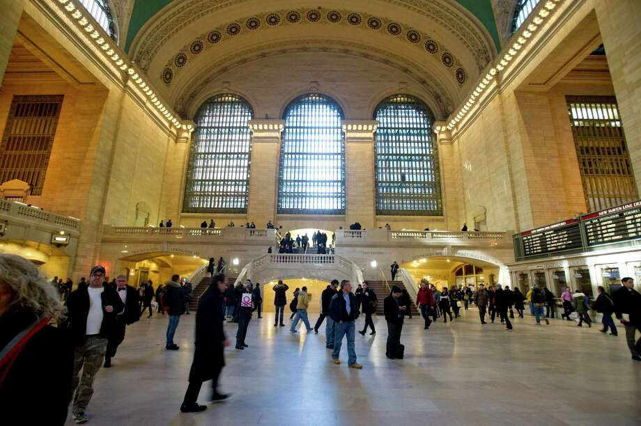 Grand Central Terminal in New York, NY, on Wednesday, February 26, 2014. Photo: Lindsay Perry / Lindsay Perry / Stamford Advocate