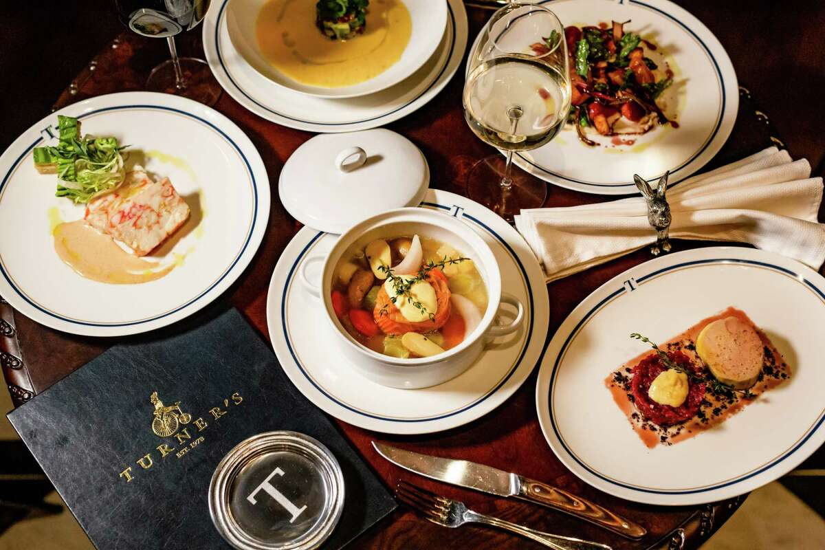 Dishes on the menu at Turner's, a new dining concept from restaurateur Benjamin Berg, featuring a menu from James Beard Award-winning chef Robert Del Grande, at 1800 Post Oak.