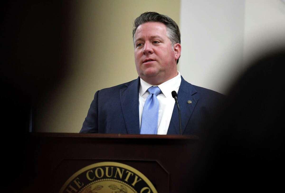 Albany County Executive Dan McCoy. (Will Waldron/Times Union)