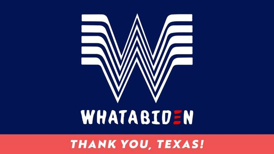 """""""Call it a W. Thank you, Texas."""" Joe Biden went from projected loser in Texas to declared winner. And the new front-runner knew to give credit where credit is due. Today, he tweeted a thank you to Texas, and Whataburger Nation. Photo: @JoeBiden/Twitter"""