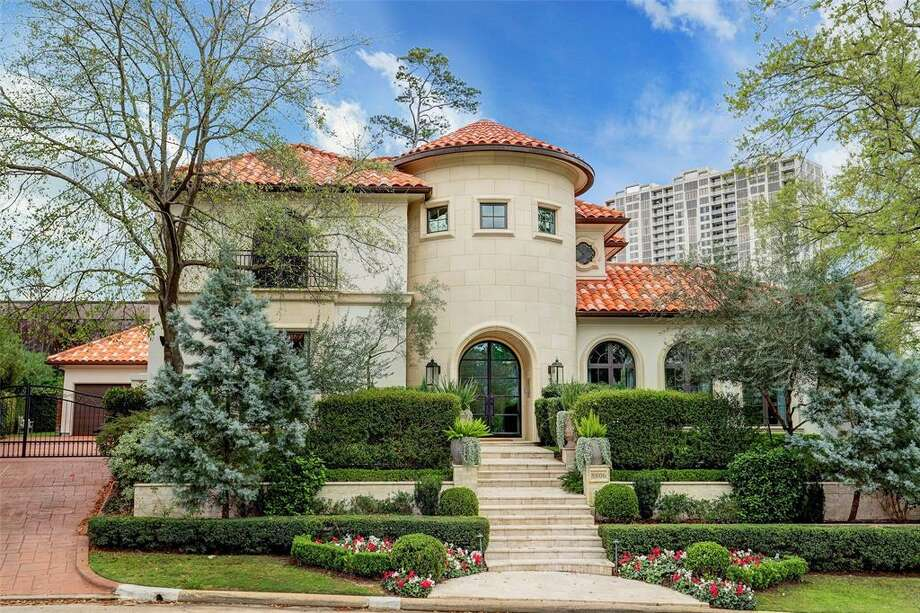 This Mediterranean-style home is among Houston's priciest rental residences.  Photo: Houston Association Of Realtors