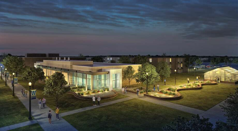 Artist rendering of the Moody Science building Photo: Courtesy Photo/WBU