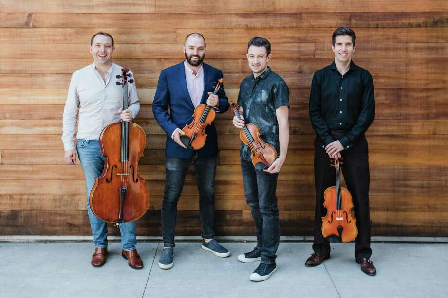 The Escher String Quartet will perform in the final concert of the Wilton Candlelight Concerts season on March 15. Photo: Contributed Photo / Anna Kariel