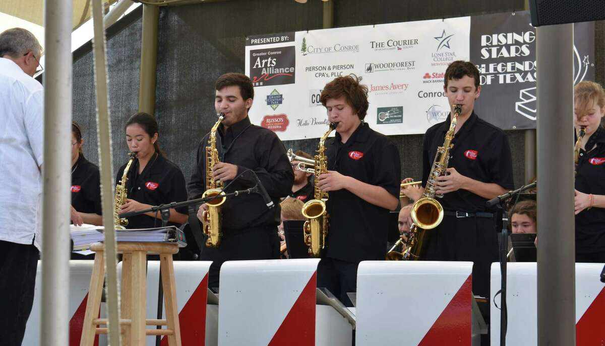 The Jazz Connection group performs during the 2019 Rising Stars and Legends of Texas in downtown Conroe. Bob Price, intrepid director and founder of The Jazz Connection, announced a tentative schedule of music that begins with a free Salon Series Jazz Concert Aug. 15.
