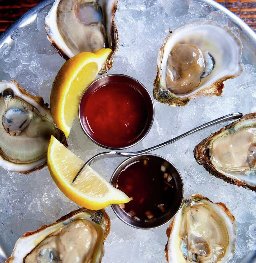 "The General Public, at 17619 La Cantera Parkway, is hoping to make Wednesday the ""best day of the the week"" with a dozen freshly shucked oysters for $9.95 from open to close, 11 a.m. to 10:30 p.m. Photo: Courtesy, The General Public"