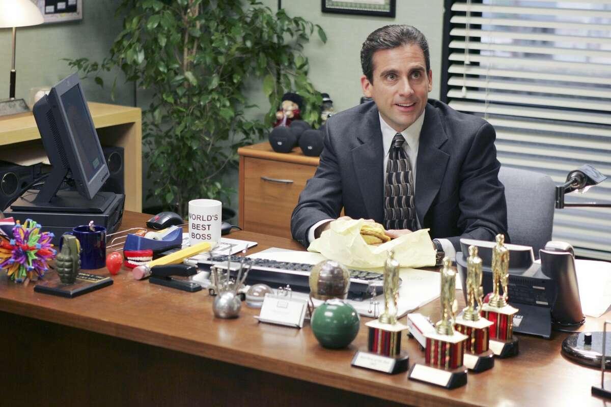 FILE - Steve Carell plays Michael Scott in NBC's long-running show,