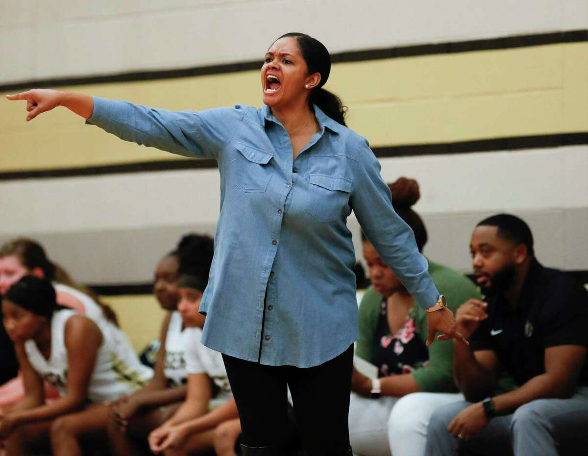 Conroe head coach Tamisha Houston earned Coach of the Year honors in District 15-6A.
