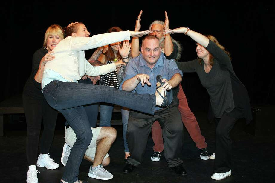 Rick Hodder, coach and director of Ridgefield Theater Barn's Role in the Hay Players will teach two improv workshops for adults and teens at the Theater Barn. Photo: Contributed Photo
