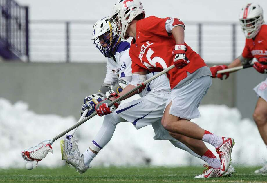 Former Cornell star Fleet Wallace was one of eight players selected by Connecticut Hammerheads in Major League Lacrosse's Supplemental Draft. Photo: John Davenport / Albany Times Union / (Paul Buckowski/Times Union)