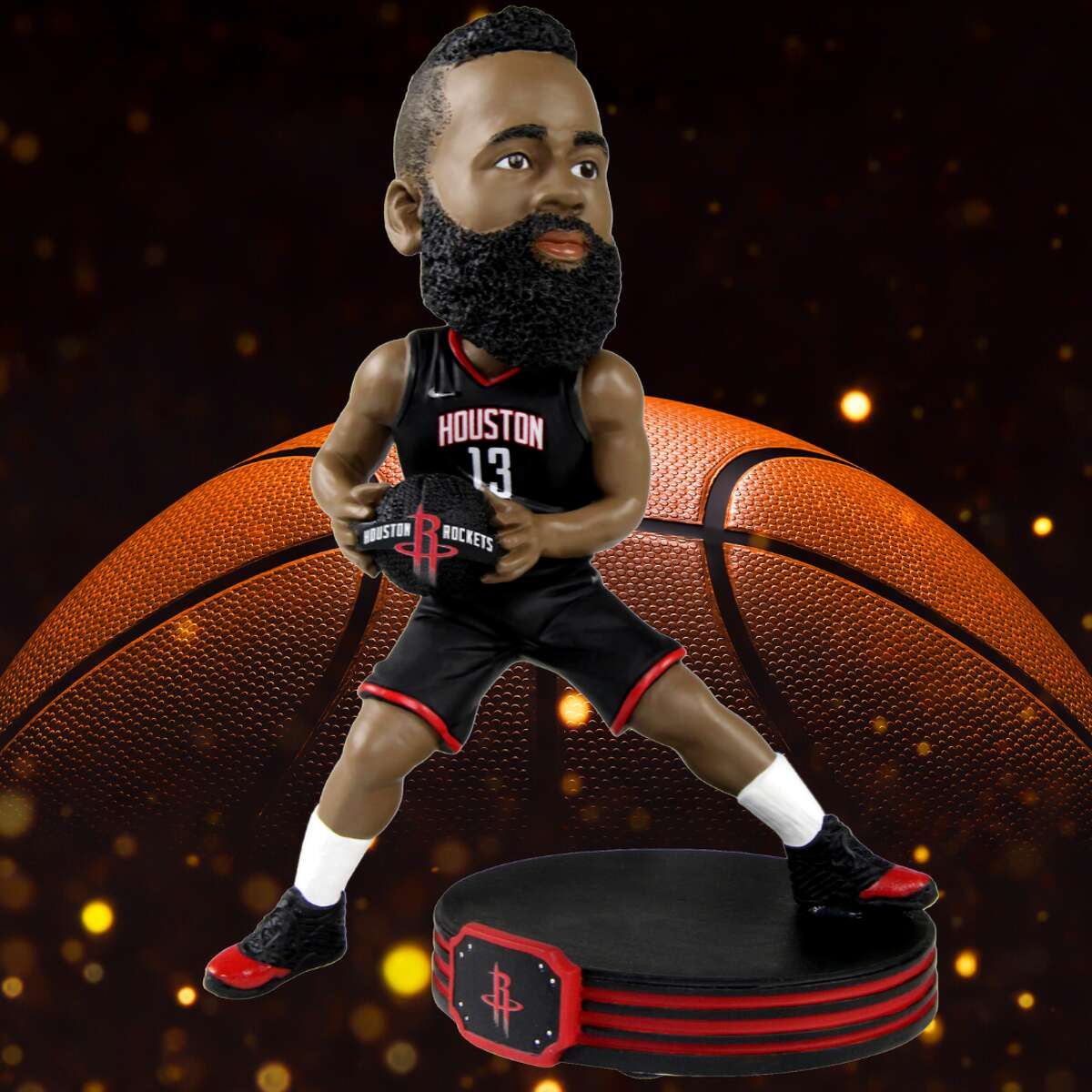 A James Harden bobblehead. For any Rockets fan missing their team (and sports in general), this limited edition James Harden bobblehead is only available through the National Bobblehead Hall of Fame website.