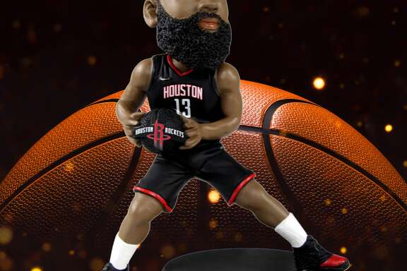 This limited edition James Harden bobblehead is only available through the National Bobblehead Hall of Fame website.