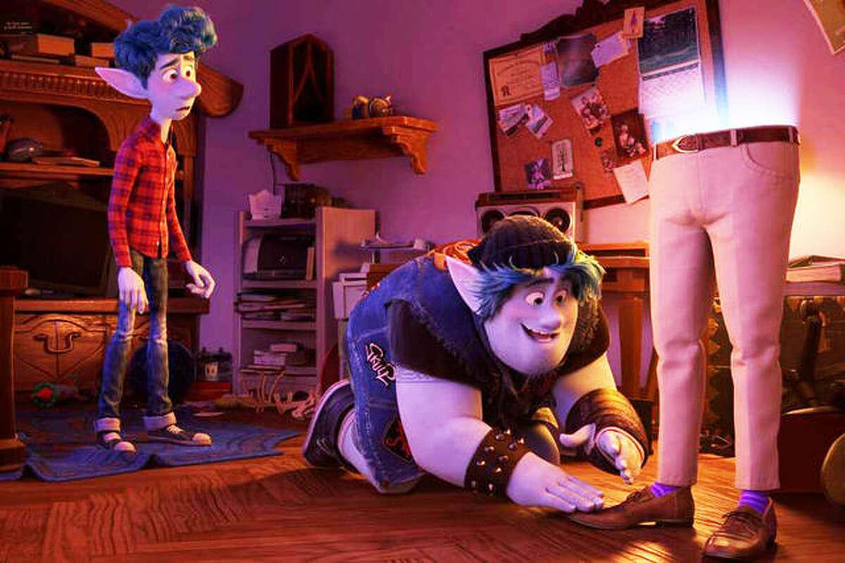 A scene from Disney/Pixar's