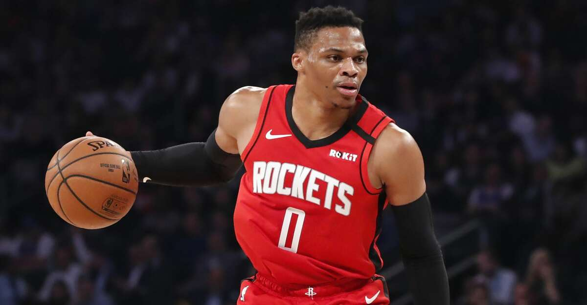 After the NBA shutdown and a case of COVID-19, Russell Westbrook practiced with the Rockets for the first time since March 11.