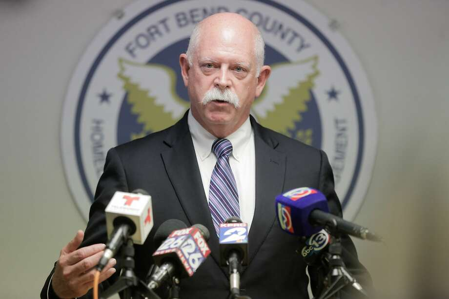 Dr. David Persse, local health authority for the Houston Health Department, addressed the media about the region's first presumptive positive case of COVID-19. Photo: Elizabeth Conley, Staff Photographer / © 2020 Houston Chronicle