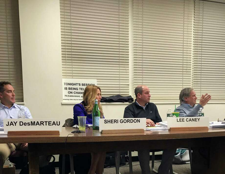 The Board of Finance was presented the town and schools budget at a meeting on Wednesday. Photo: DJ Simmons /Hearst Connecticut Media
