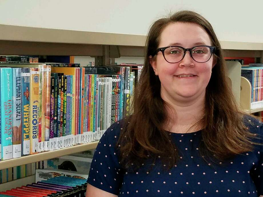 Sam Tomlinson is a youth services librarian at the Grace A. Dow Memorial Library. (Ron Beacom/For the Daily News)