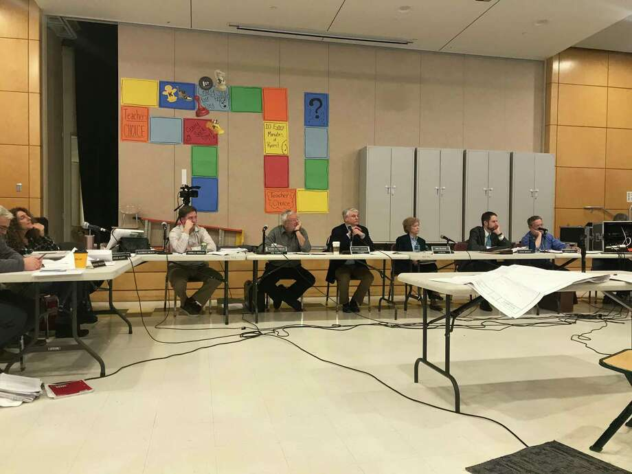 The Plan and Zoning Commission during its Feb. 25 meeting. Photo: / Josh LaBella