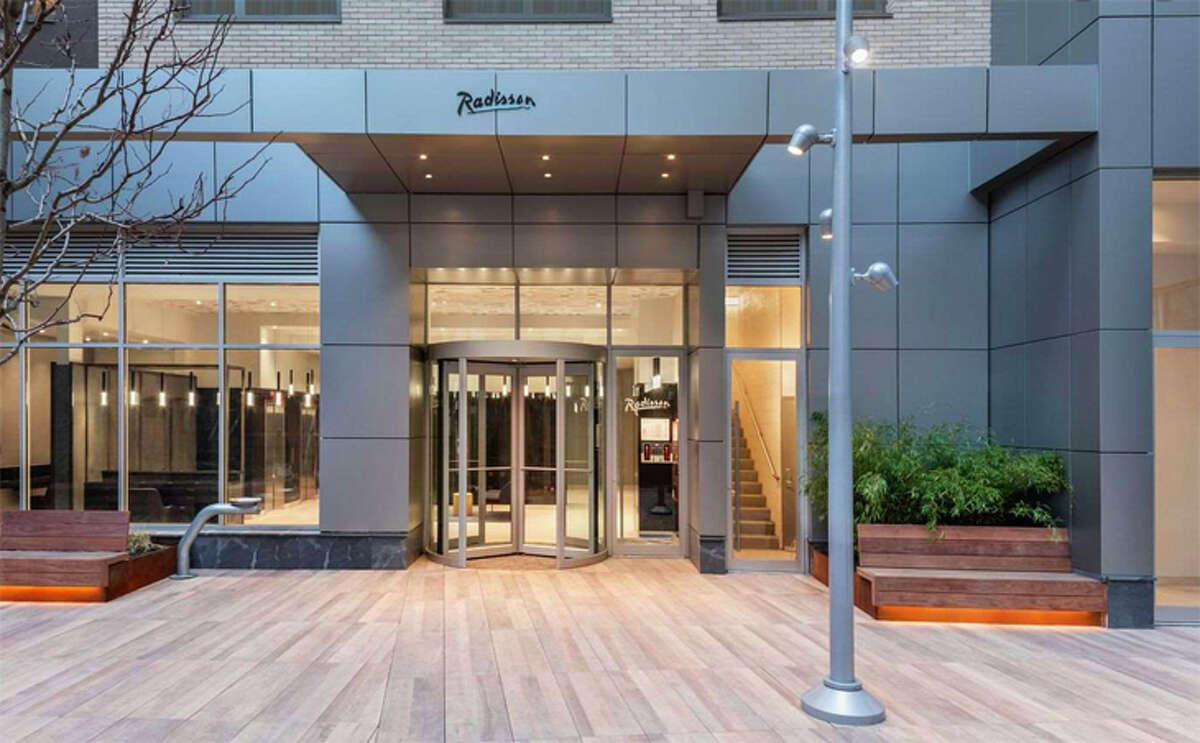 The Radisson Times Square is a newly built property at Eighth Avenue and 37th Street.