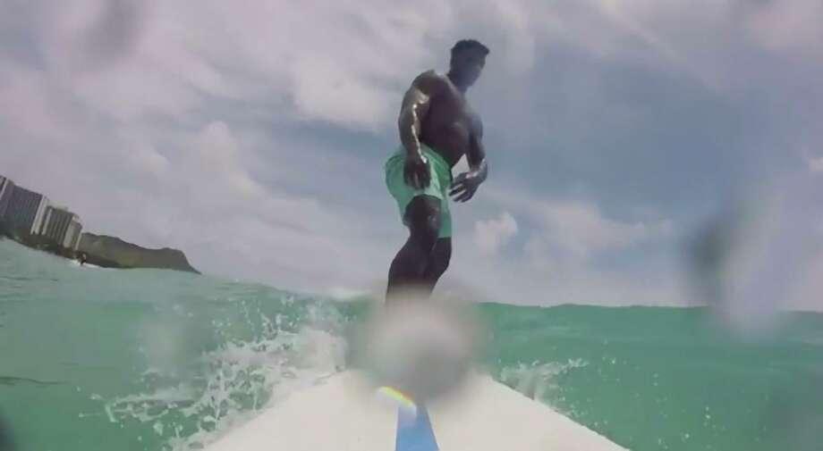 Surfing in Waikiki, Hawaii Photo: File / ONLINE_YES