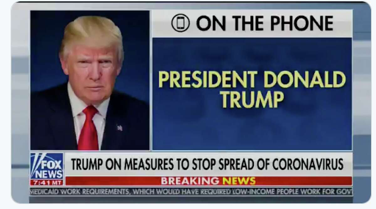 President Trump attacked the World Health Organization's assessment of the novel coronavirus death rate on Sean Hannity's Fox News show.