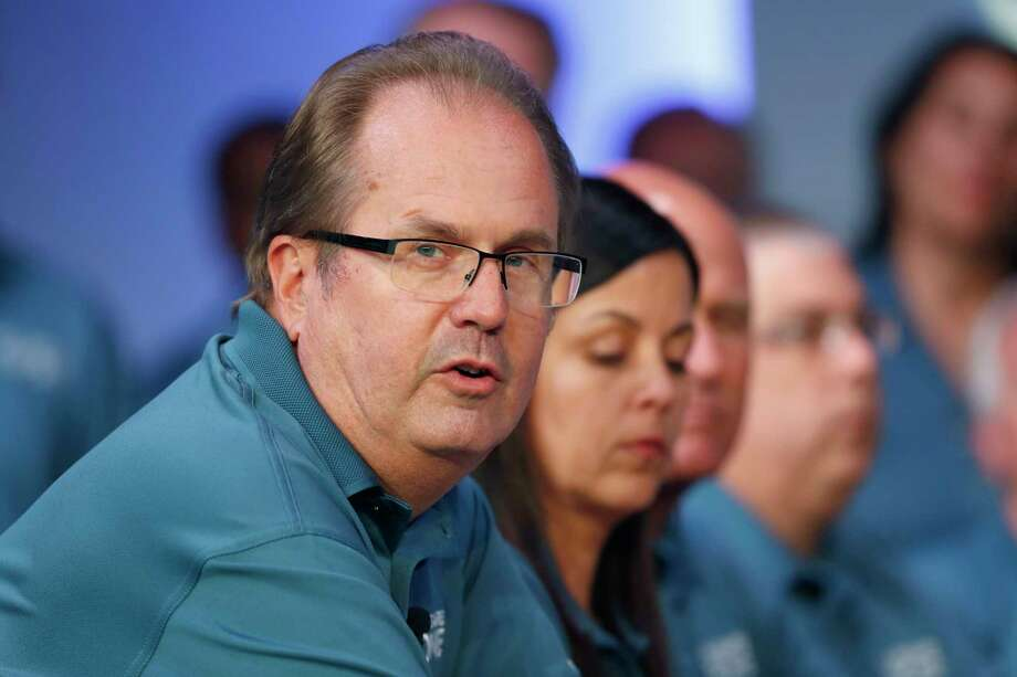 Federal prosecutors have charged Gary Jones, the former president of the United Auto Workers, with corruption, Thursday, March 5, 2020, alleging he conspired with others at the union to embezzle more than $1 million. Jones quit his post in November 2019. (AP Photo/Paul Sancya, File) / Copyright 2019 The Associated Press. All rights reserved.