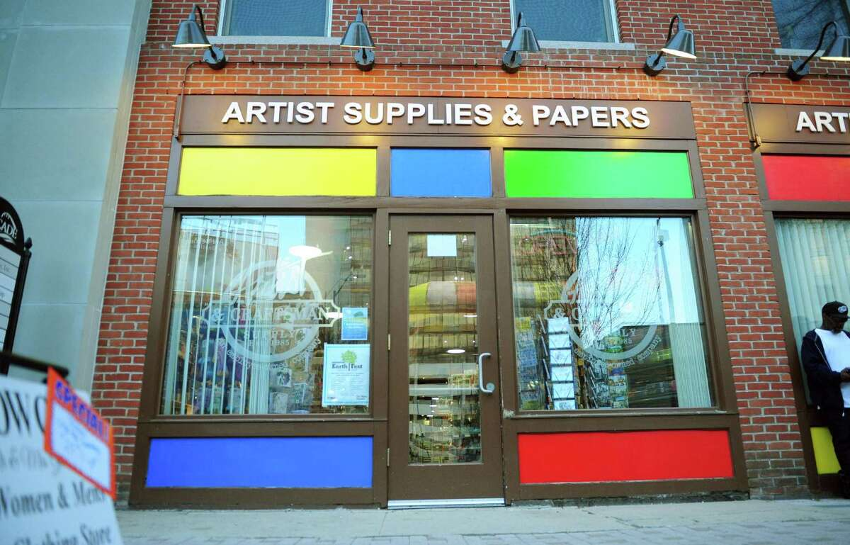 Artist and Craftsman, an art supply store on Main Street in downtown Bridgeport, is closing after four years.