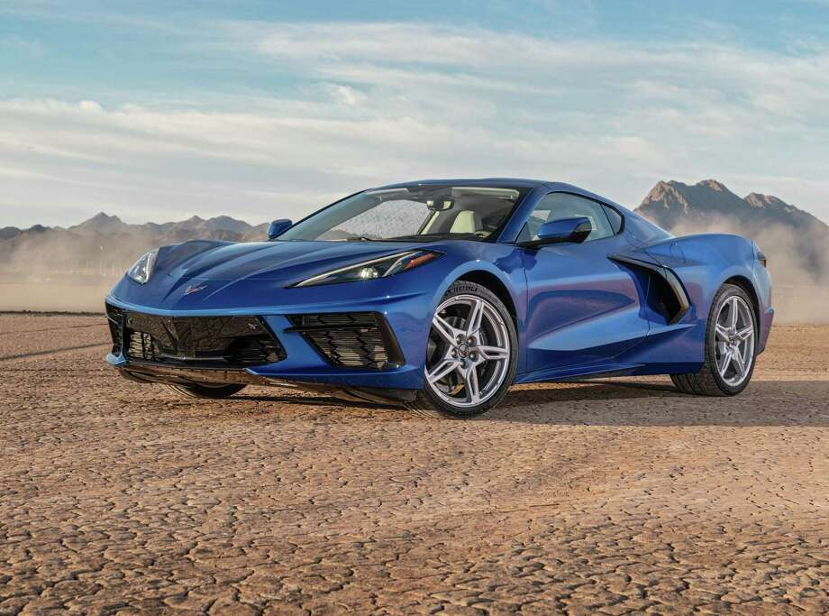 The Corvette team tweaked the aerodynamics for optimal drag and cooling and downforce. The switches to open the doors and front storage compartment are hidden. Photo: Chevrolet / JESSICA LYNN WALKER