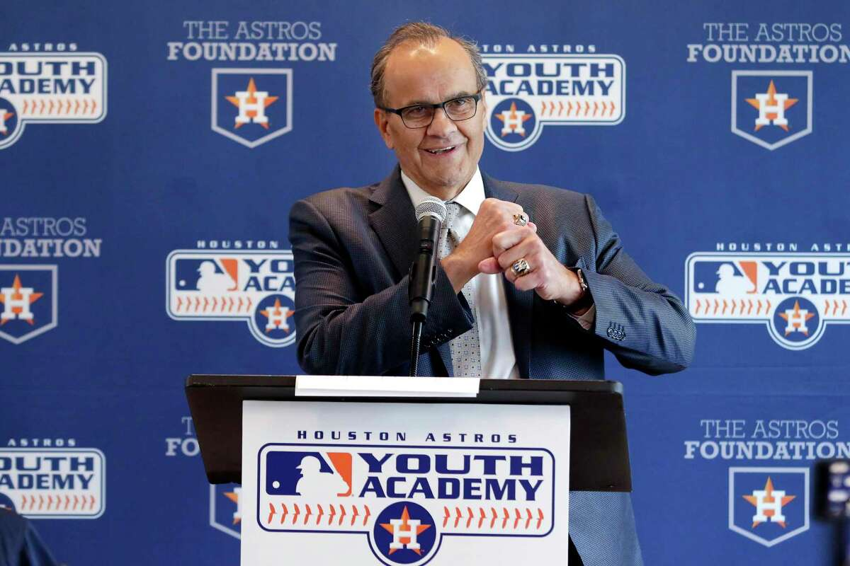 Joe Torre, speaking at an event to dedicate the Bob Watson Education Center at the Astros Youth Academy, said he doesn't expect opposing teams to throw at Astros' players this season.