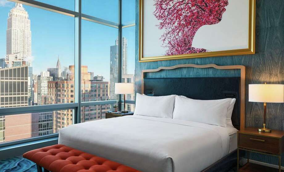 Eye-popping view from the Presidential Suite at the new Renaissance Chelsea. Photo: Marriott